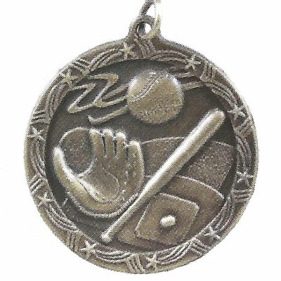 Economy baseball Medal