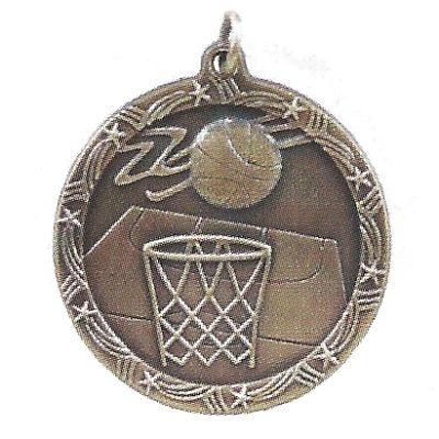 Economy Basketball Medal