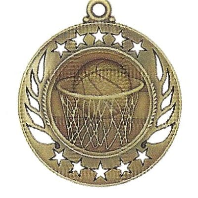 High End Basketball Medal