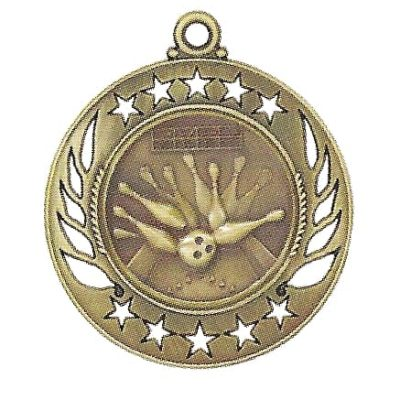 High End Bowling Medal
