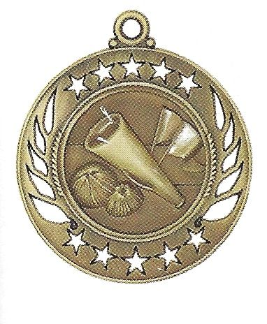 High End Cheeleading Medal