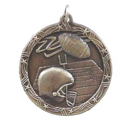 Economy Football Medal