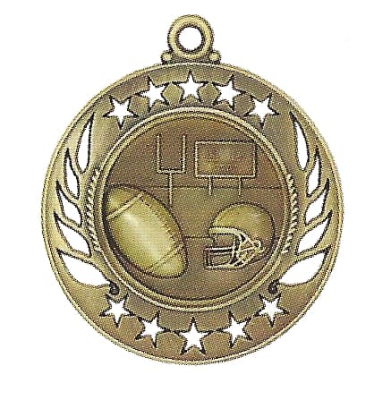 High End Football Medal