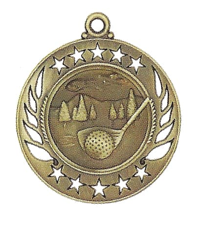 High End Golf Medal