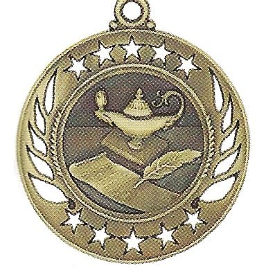 High End Lamp of Knowledge Medal
