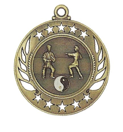 High End Marital Arts Medal