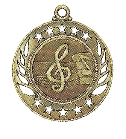 High End Music Medal