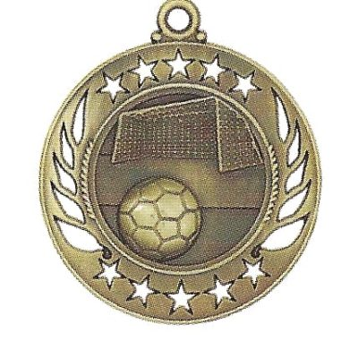 High End Soccer Medal