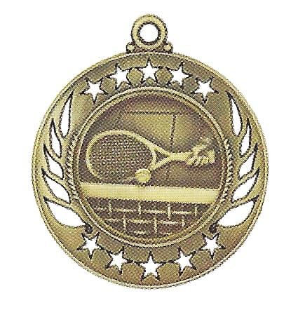 High End Tennis Medal