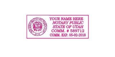 Utah Notary Stamp