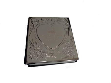 Engraved Silver Photo Album