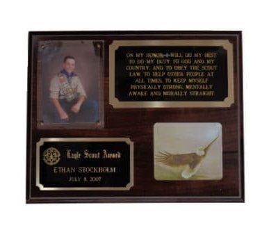 Eagle Scout Plaque