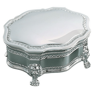 Victorian Jewelry Box with Feet