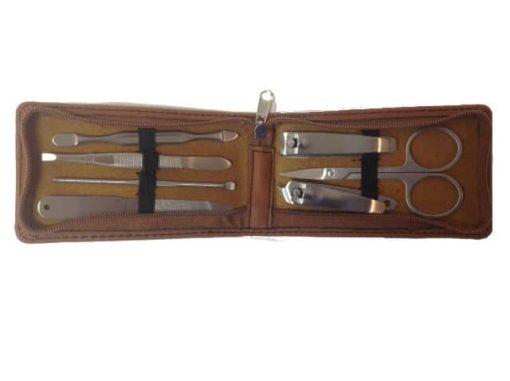 Leather Manicure Set