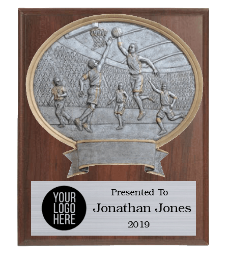 Legends Male Basketball Plaque