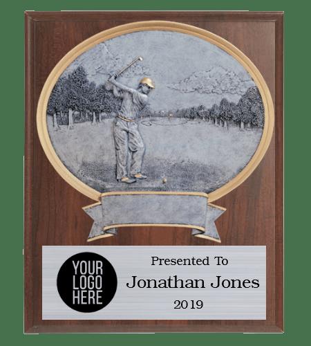 Legends Golf Plaque