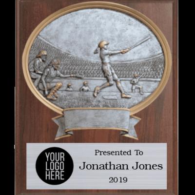 Legends Softball Plaque