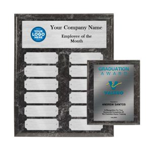 Employee of the month plaques package