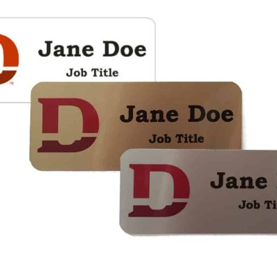 Dixie D Name Tags