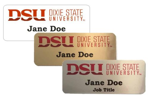 Dixie State University Name Tags