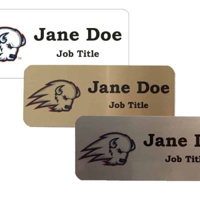 Dixie State University Trailblazer Name Tags