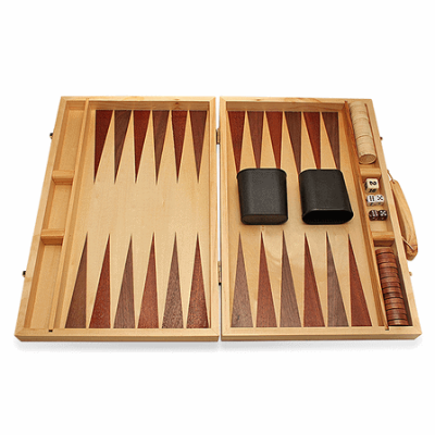 Engraved Backgammon Set