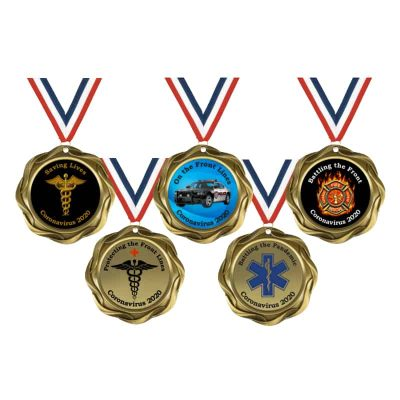 Coronavirus medals for first responders