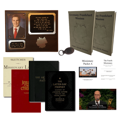 The ultimate missionary package with missionary plaque