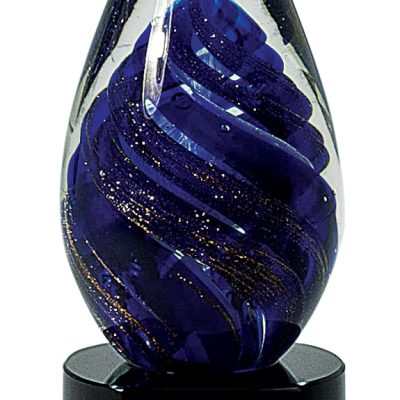 Purple Egg Artglass Trophy